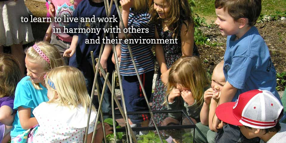<b>Learning Harmony</b> - to learn to live and work in harmony with others and their environment
